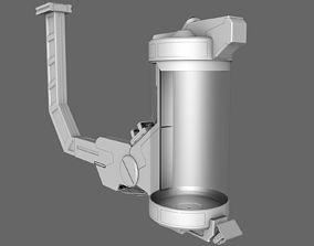 3D Sci Fi Lab Pod Tank