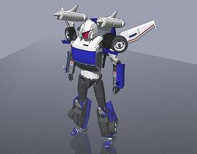 Tracks transformer 3D model