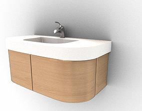 Wash Basin stand 3D
