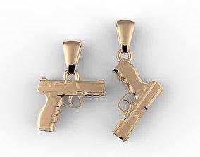 gun pendate 3D print model
