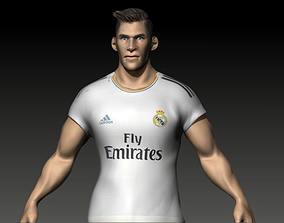 Gareth Bale Haircut 3D print model