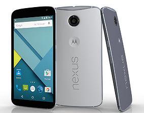 Motorola Google Nexus 6 3D asset
