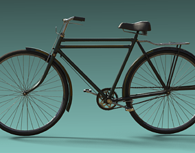 Philips Bicycle-rigged 3D asset