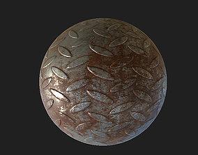 3D asset rust grid