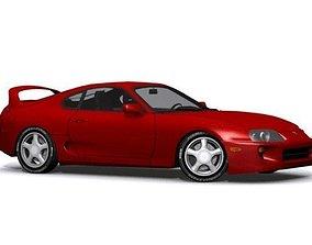 Toyota Supra 3D asset