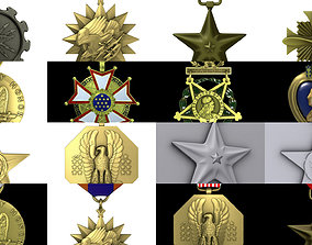 3D US Medals collection