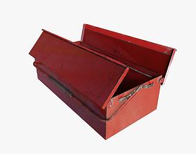 RIGGED Toolbox 3D asset