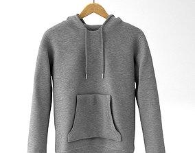 hoodie sweater 3d model