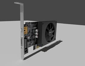 3D asset Nvidia GT710 Gygabyte 2GB DDR3