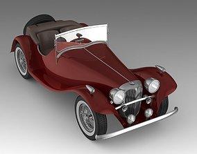 luxury 3D Retro Car