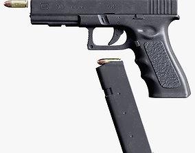 3D model Glock 17 9mm