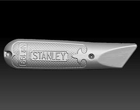 Stanley Utility Knife Handle 3D Scan
