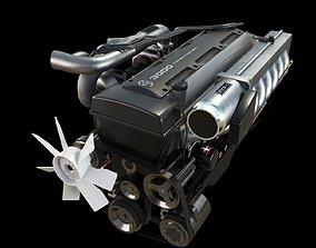 3D model Toyota 2JZ-GTE Engine