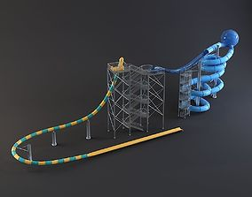 3D water Park slides 7