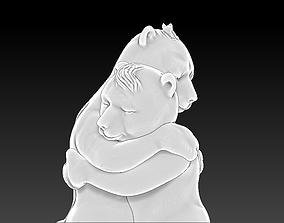 Bear Hug printable model