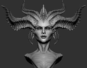 3D printable model Lilith Diablo