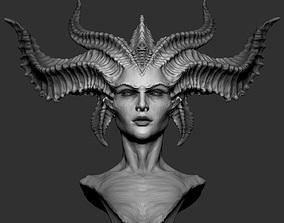 3D printable model Lilith Diablo