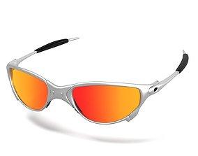 Oakley Juliet Sunglasses 3D model