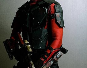 Deadshot Suicide Squad Headset 3D printable model