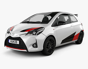 3D model Toyota Yaris GRMN 2017