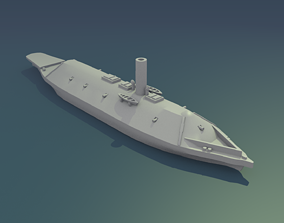 3D print model CSS Virginia 1862
