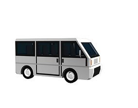 3D model Micro Van