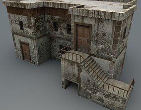 3D model Abandoned House 2c