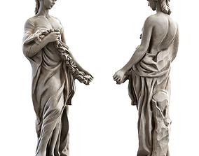 Woman Sculpture historical 3D model