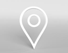 Map Tag v1 002 3D asset