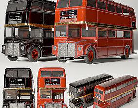 3D model bus routemaster