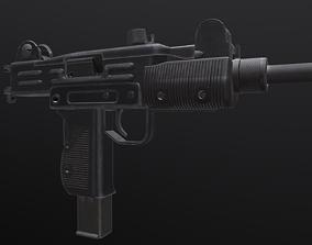 3D UZI - Submachine Gun