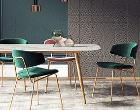 3D model Dining Room Interior 219