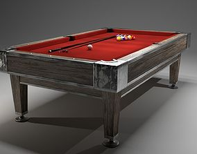 Billiard table 3D hobby