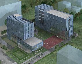 office block Office Building 3D
