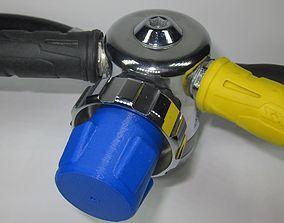SCUBA - DIN Regulator Dust Cap 01 3D print model