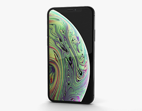 Apple iPhone XS Space Gray 3D