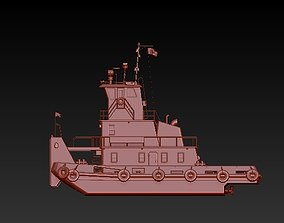3D print model Search and rescue vessel