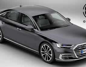 Audi A8 2018 audi 3D