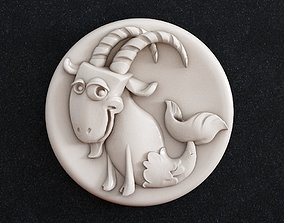 3D printable model Capricorn Zodiac zodiac