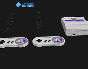 E3D - Super Nintendo Entertainment System Classic Edition