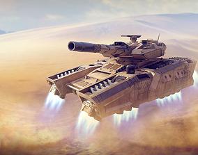 Tempest Hover Tank 3D model