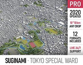 Suginami - Tokyo special ward 3D model