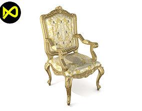 3D model Best Luxury Arm Chair Classic