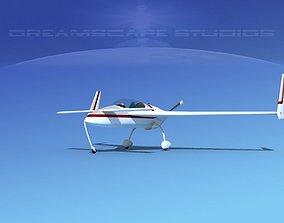 Rutan VariEze V19 3D model