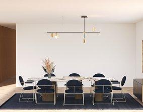 Dinning room 3D model furniture