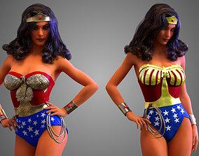 3D Wonder Woman Lynda Carter