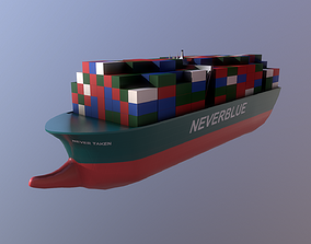 3D model Toon Ship
