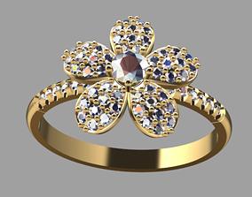Defleu Ring 3D print model