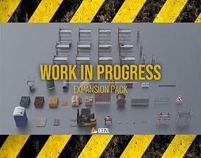 Work In Progress - Expansion Pack - Blender and 3D model