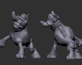 3D print model Little Tusk beast